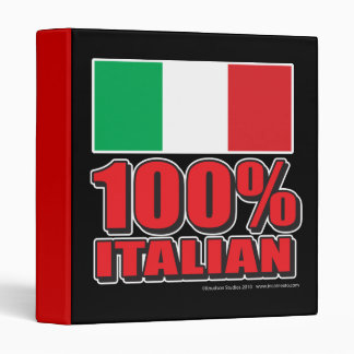 100% Italian Binder