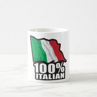 100% Italian Coffee Mug