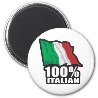 100% Italian Magnet