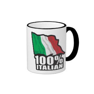 100% Italian Ringer Mug