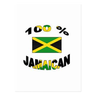 100% Jamaican Postcard