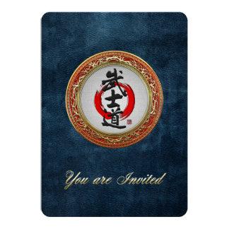 [100] Japanese Calligraphy - Bushido Card