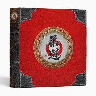 [100] Japanese Martial Arts Calligraphy: Judo Vinyl Binder