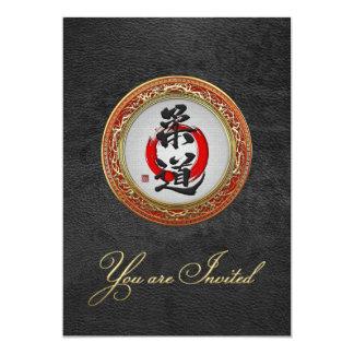 [100] Japanese Martial Arts Calligraphy: Judo Card