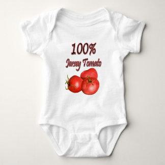 100% Jersey Tomato Baby Bodysuit