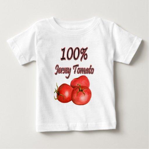 100% Jersey Tomato Baby T-Shirt