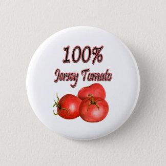 100% Jersey Tomato Button