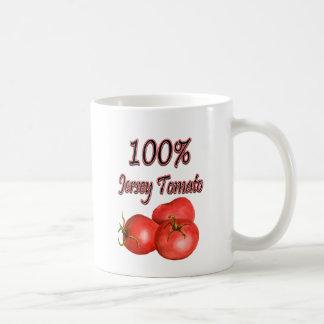 100% Jersey Tomato Coffee Mug