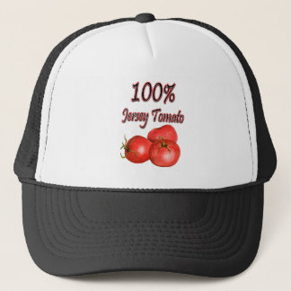100% Jersey Tomato Trucker Hat
