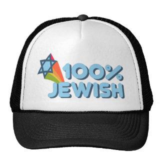 100% JEWISH + Magen David Mesh Hat
