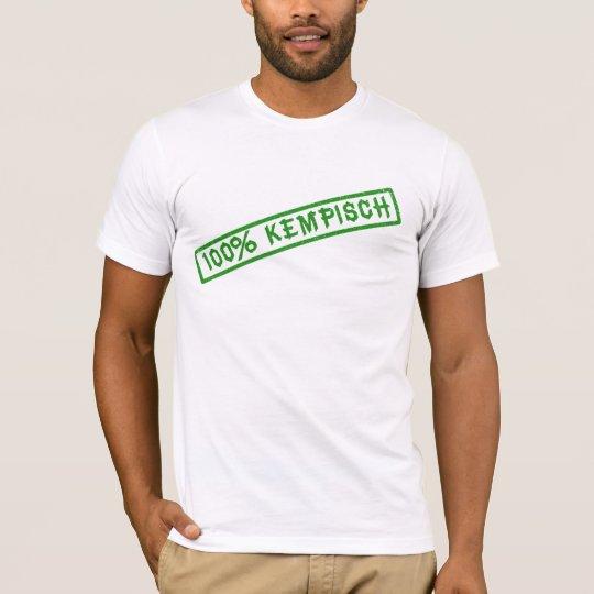 100% kempisch shirt white