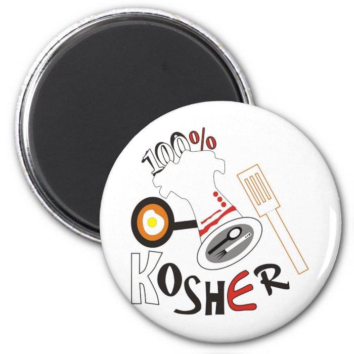 100% Kosher 2 Inch Round Magnet