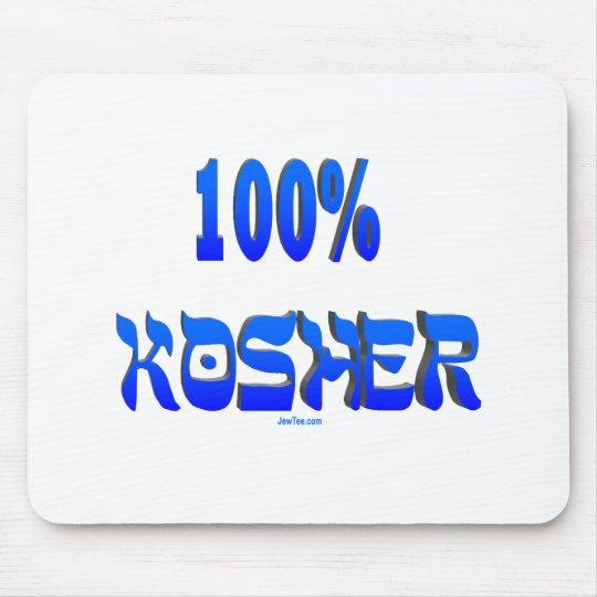 100% kosher Jewish gifts Mouse Pad