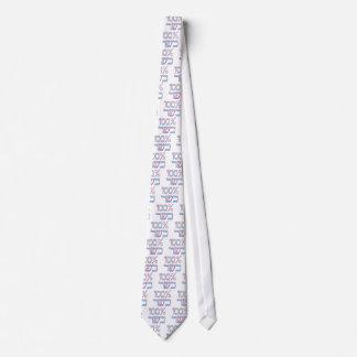 100% Kosher Tie