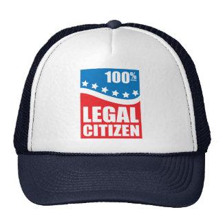 100% Legal Citizen Trucker Hat