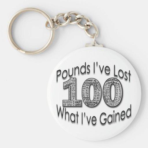 100 libras de llavero perdido