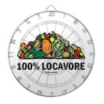 100% Locavore (Pile Of Vegetables) Dart Board