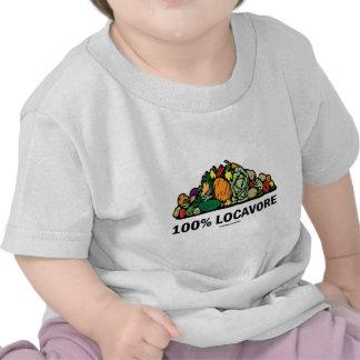 100% Locavore (Pile Of Vegetables) Tshirt