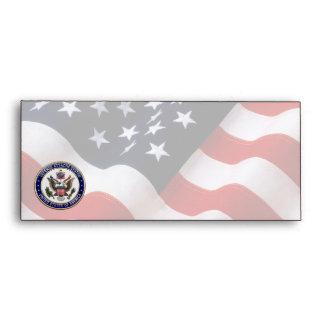[100] LOS E.E.U.U. Emblema del sistema de Attaché Sobres
