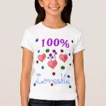 100% Lovable Girls T-Shirt