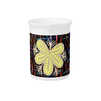 100 lowprice gifts Abstract Butterfly look FLOWER Beverage Pitchers