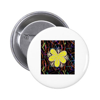 100 lowprice gifts Abstract Butterfly look FLOWER Pinback Button