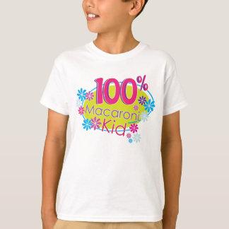 100% Macaroni Kid T-shirt for kids