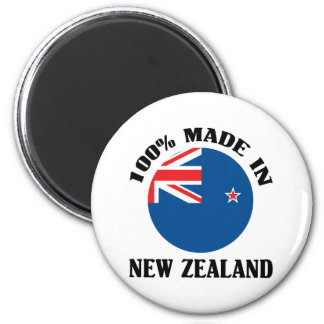 100 Made In New Zealand Fridge Magnet