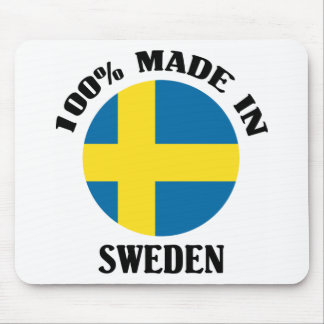 100% Made In Sweden Mouse Pad