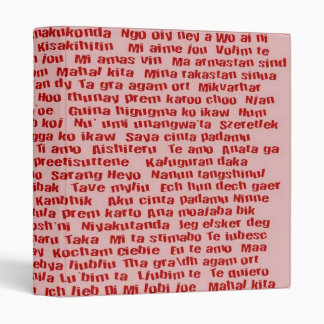 "100 maneras de decir te amo carpeta 1"""