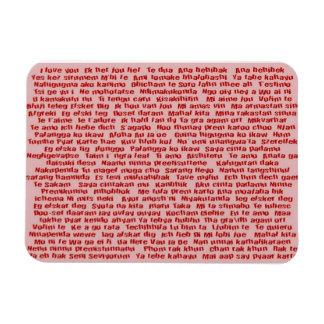 100 maneras de decir te amo imán flexible