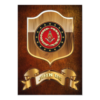 [100] Masonic Square and Compasses [3rd Degree] Card