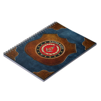 [100] Master Mason, 3rd Degree [Special Edition] Note Book