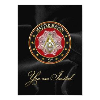 [100] Master Mason - 3rd Degree Square & Compasses Card