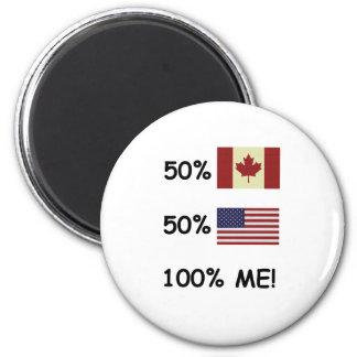 100% ME Canadian/American Fridge Magnets