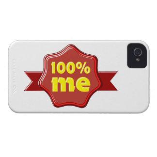 100 me percent Case-Mate iPhone 4 protectores