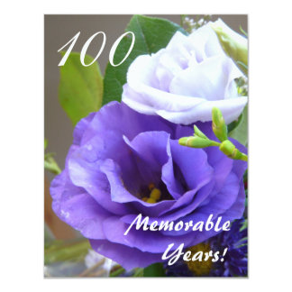 100 Memorable Years!-Birthday Celebration Card