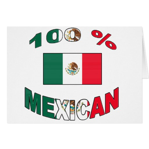 100% Mexican Greeting Cards