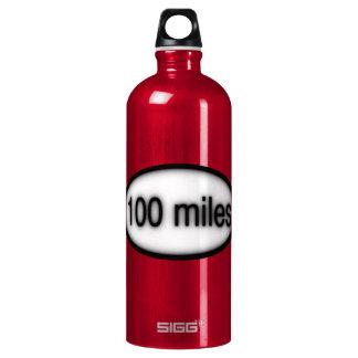 100 miles water bottle