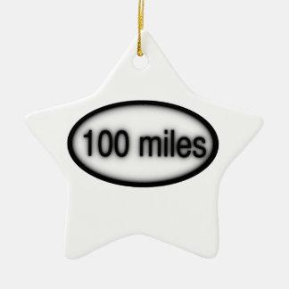 100 millas adorno