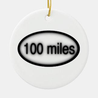 100 millas ornamentos de reyes