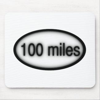 100 millas tapetes de ratones