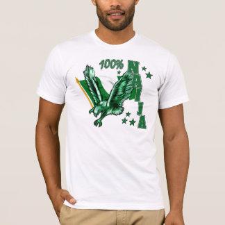 100% Naija for the patriotic Nigerian T-Shirt