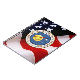 [100] NASA Emblem [3D] Spiral Notebook