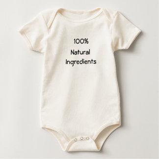 100%, Natural, Ingredients Romper