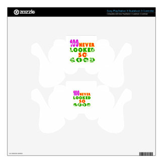 100 Never Looked So Good Birthday Designs PS3 Controller Decals
