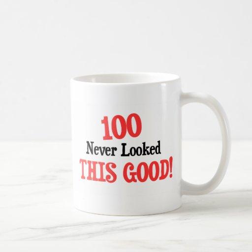 100 never looked this good! mug