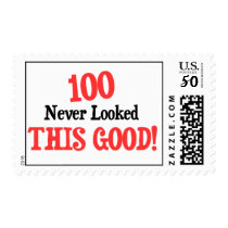 100 never looked this good! postage
