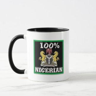 100% Nigeria Gift (Africa) Mug
