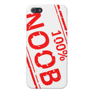 100% Noob Rubber-stamp iPhone SE/5/5s Case